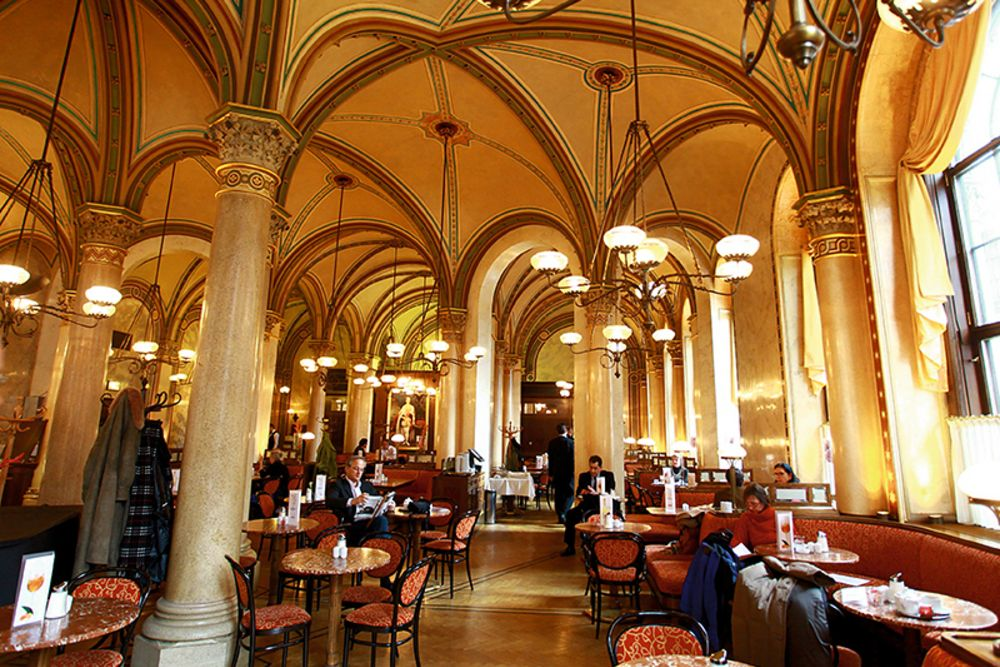 Coffee house in Vienna